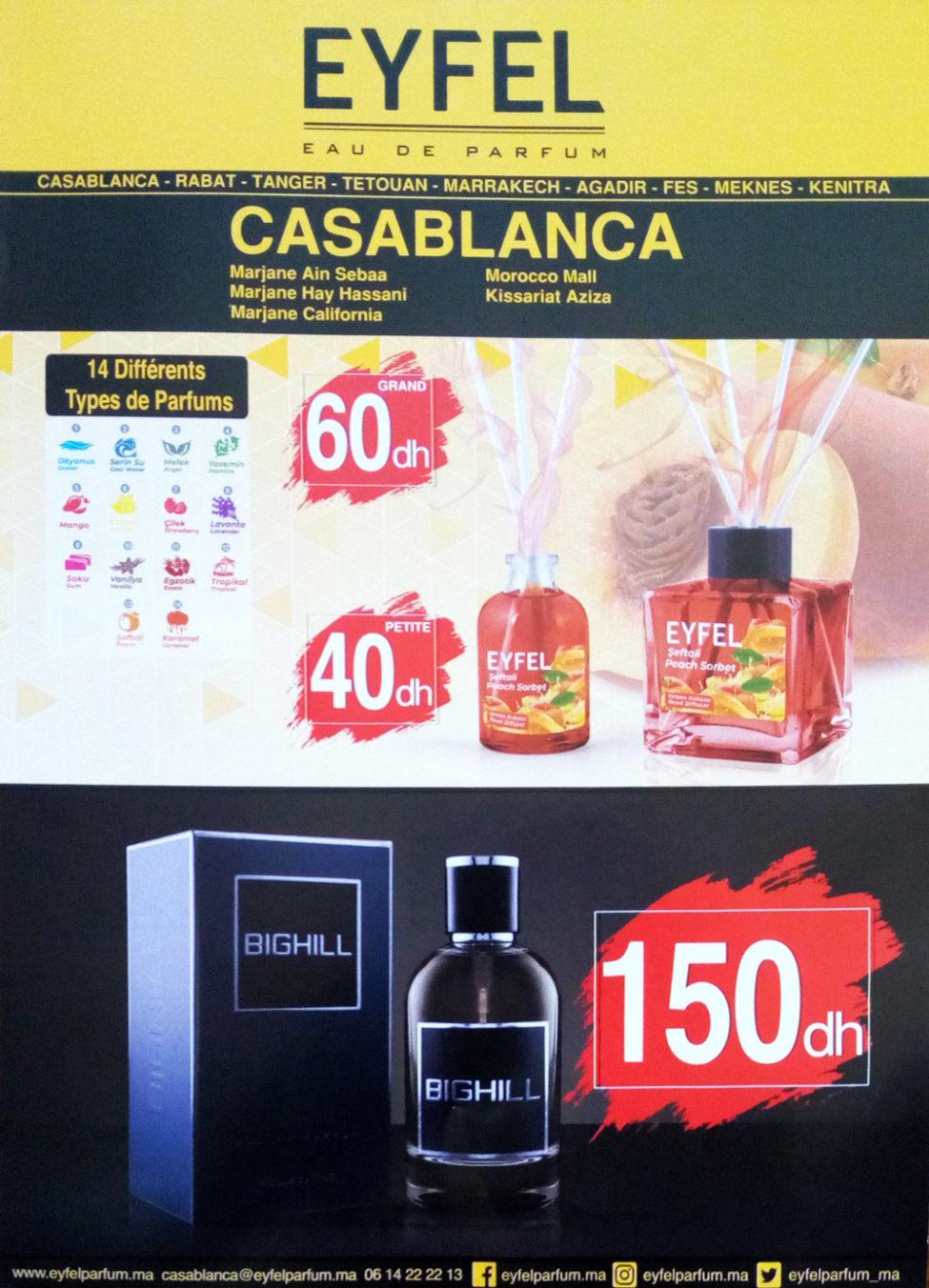 Flyer EYFEL Eau de parfum Spéciale 3 pour le prix de 2