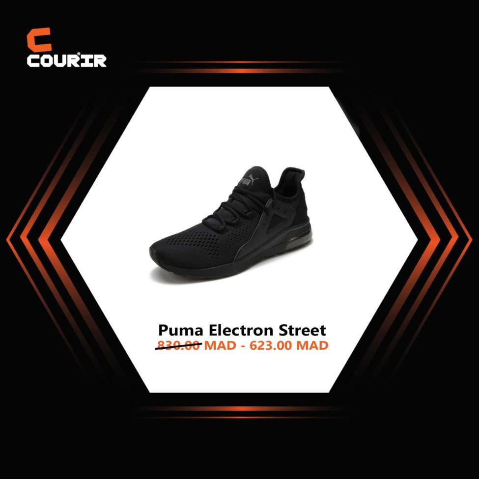 Courir 623dhs Chaussure Puma Street Soldes De Electron Au Lieu Maroc kXZuPOi
