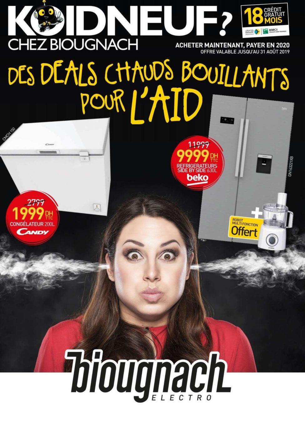 Catalogue Biougnach عيد الأضحى Jusqu'au 31 Août 2019