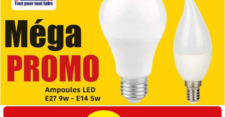 Photo of Méga PROMO Brioma Ampoules LED 9.90Dhs par pack de 3 pièces