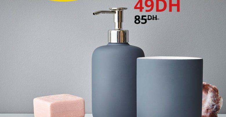 Photo of Promo Ikea Maroc Distributeur savon EKOLN 49Dhs au lieu de 85Dhs