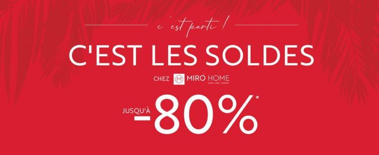 Photo of Soldes chez Miro Home Jusqu'à -80% de reduction