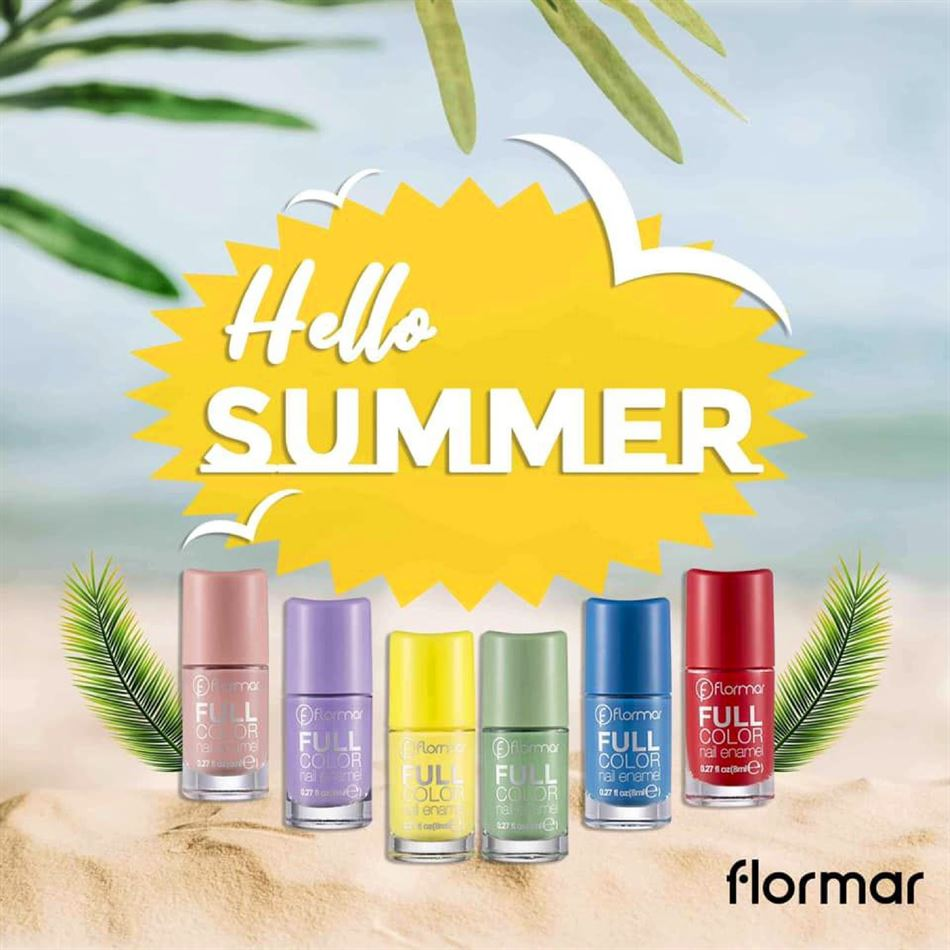 Lookbook Flormar Hello Summer du 2 au 31 Août 2019