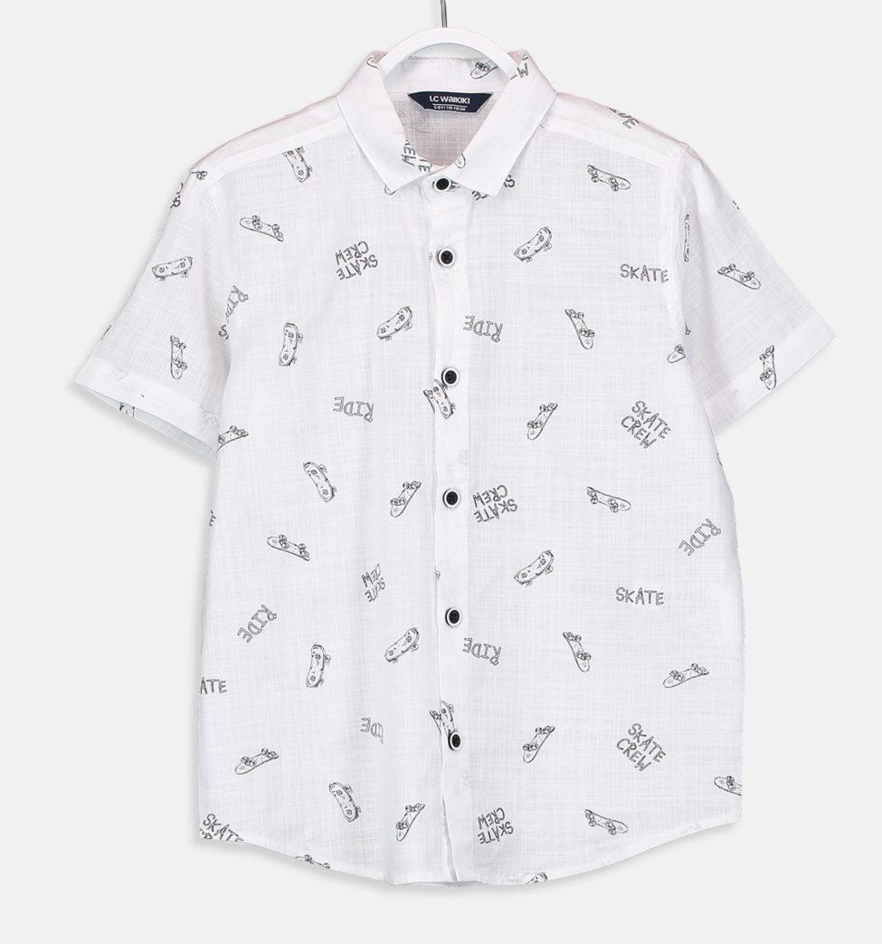 Soldes LC Waikiki Maroc Chemise garçon 59Dhs au lieu de 99Dhs
