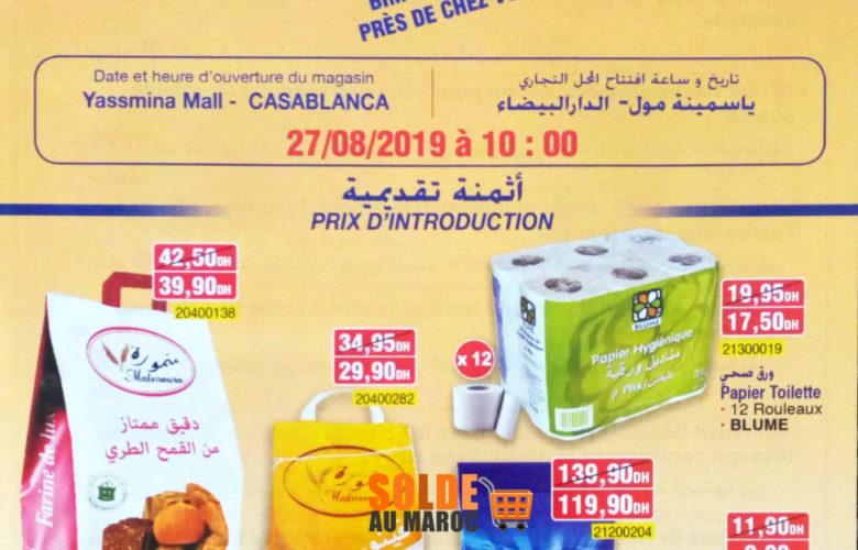 Catalogue Nouvelle Ouverture Bim Yasmina Mall Casa du 27 au 29 Août 2019