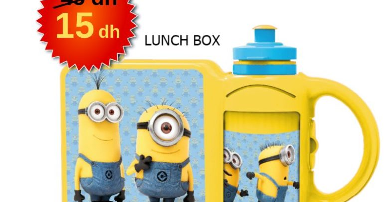 Photo of Promo Alpha55 Lunch BOX 15Dhs au lieu de 45Dhs