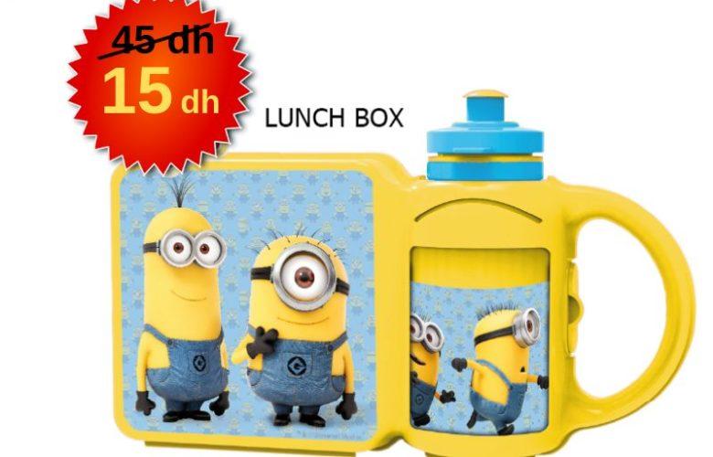 Promo Alpha55 Lunch BOX 15Dhs au lieu de 45Dhs