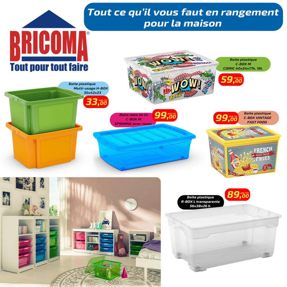 Super Offre Bricoma spéciale Rangement