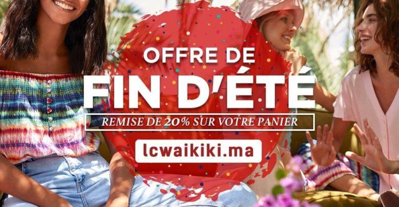 Photo of Offre fin d'été chez LC Waikiki Maroc Jusqu'au 23 Août 2019