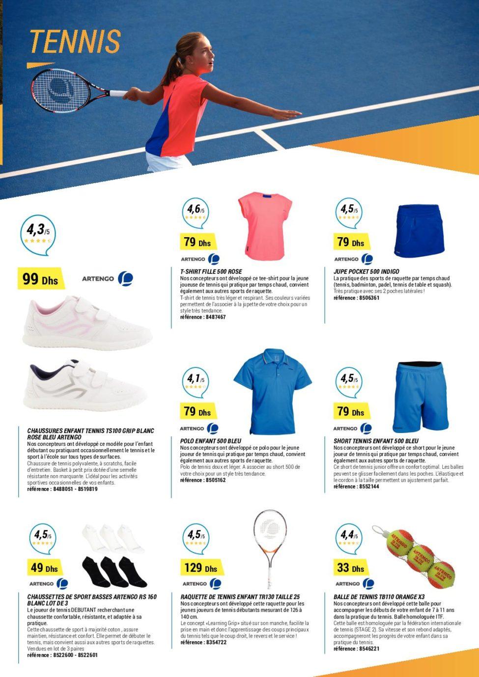 Catalogue Decathlon Maroc Spéciale Rentrées Scolaire