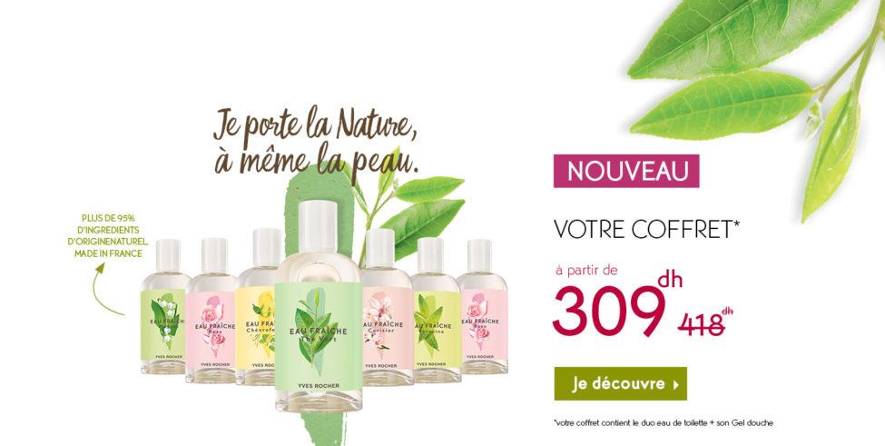 Soldes Yves Rocher Maroc Coffret Duo 309Dhs au lieu de 418Dhs