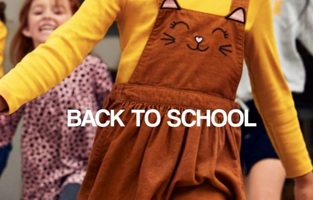 Photo of Lookbook H&M Back to school du 10 au 30 Septembre 2019