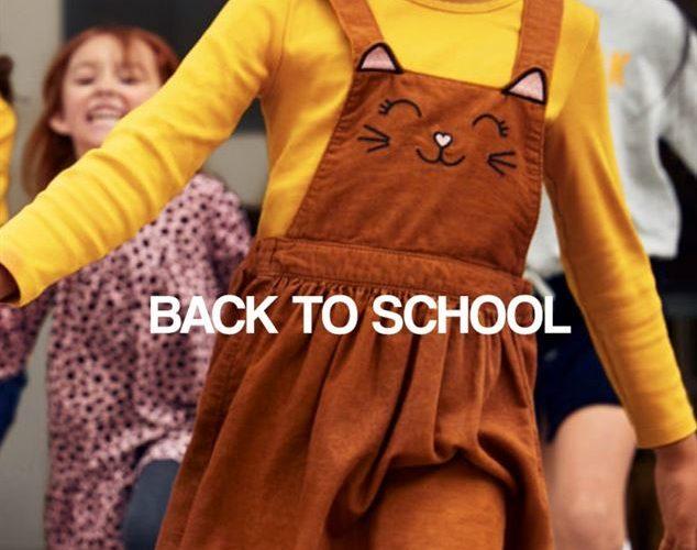 Lookbook H&M Back to school du 10 au 30 Septembre 2019