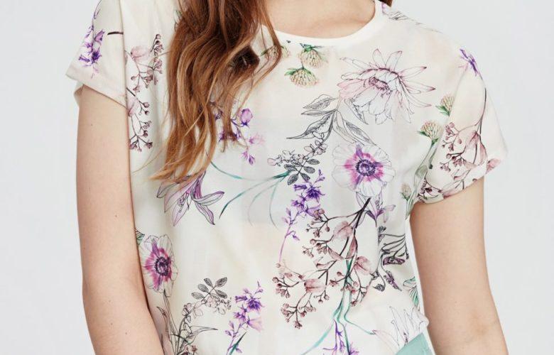 Soldes LC Waikiki Maroc T-Shirt femme 49Dhs au lieu de 89Dhs