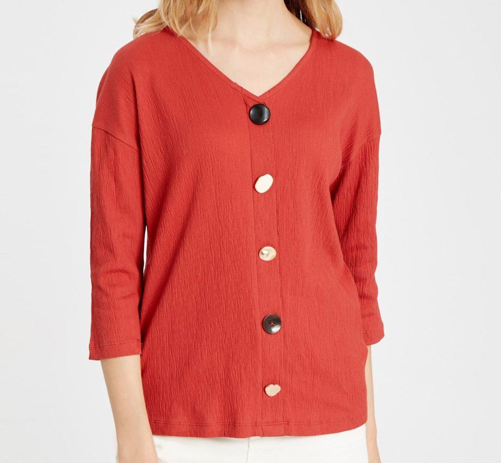 Soldes LC Waikiki Maroc T-Shirt femme 69Dhs au lieu de 119Dhs
