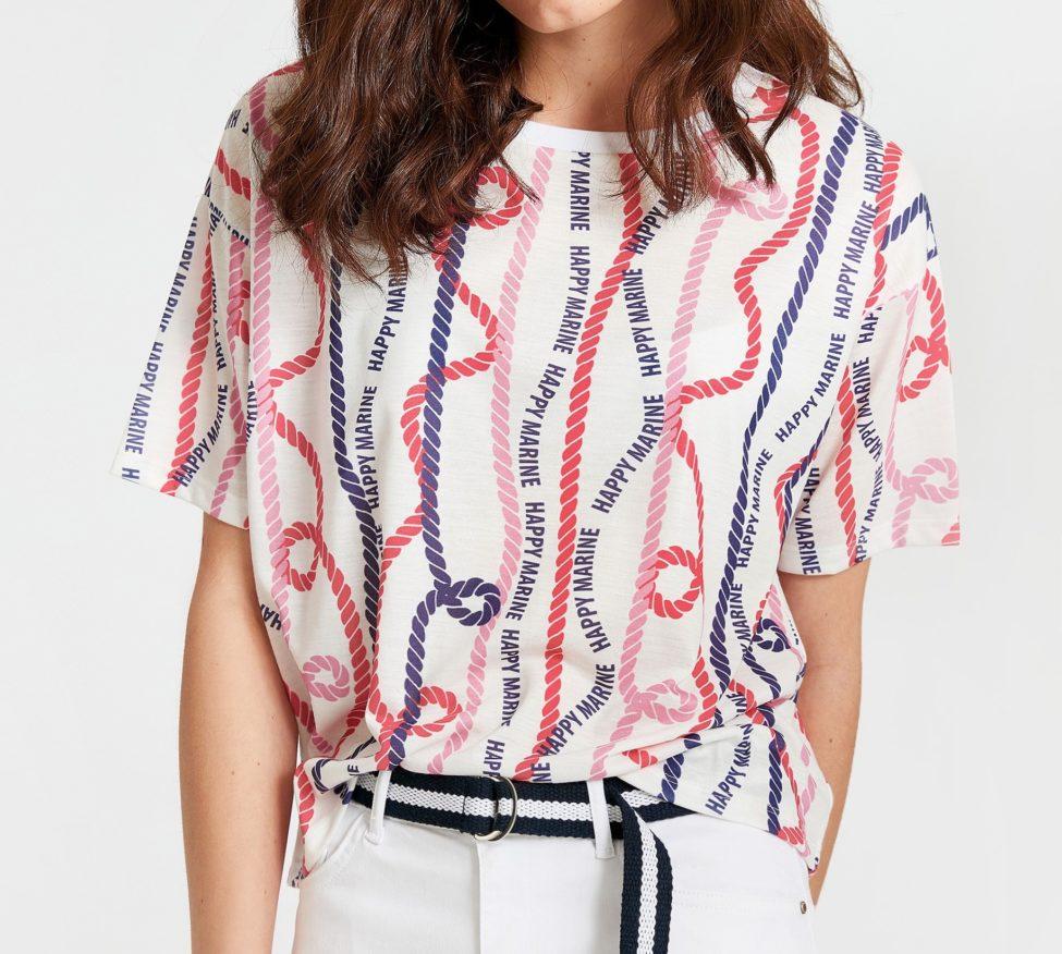 Soldes LC Waikiki Maroc T-Shirt femme 59Dhs au lieu de 79Dhs