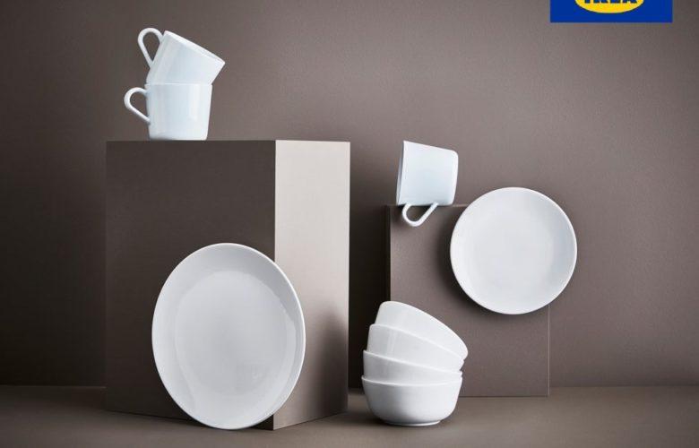 Soldes Ikea Maroc Service FLITIGHET 18 pièces blanc 249Dhs au lieu de 299Dhs