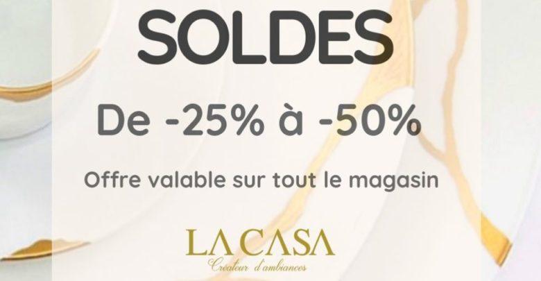 Photo of Soldes La casa créateur d'ambiances de -25% à -50% sur tout le magasin