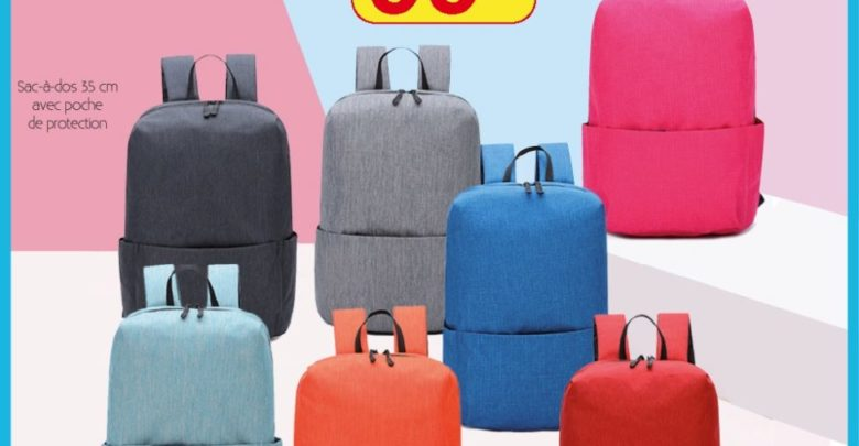 Photo of Promo Alpha55 Sac à dos avec poche de protection 99Dhs au lieu de 199Dhs