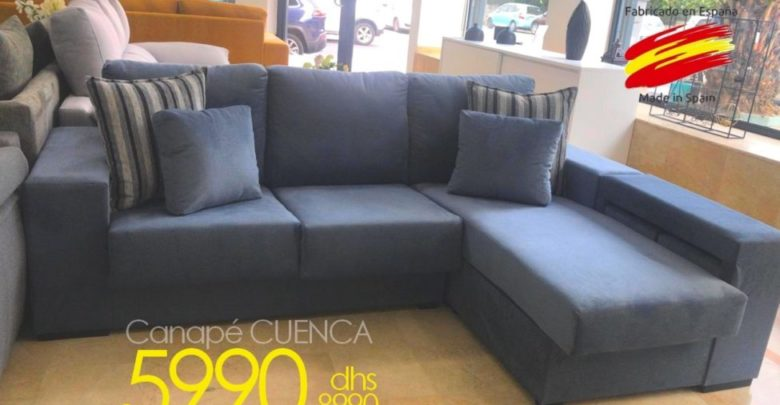 Photo of Soldes Azura Home Canapé CUENCA 5990Dhs au lieu de 8990Dhs