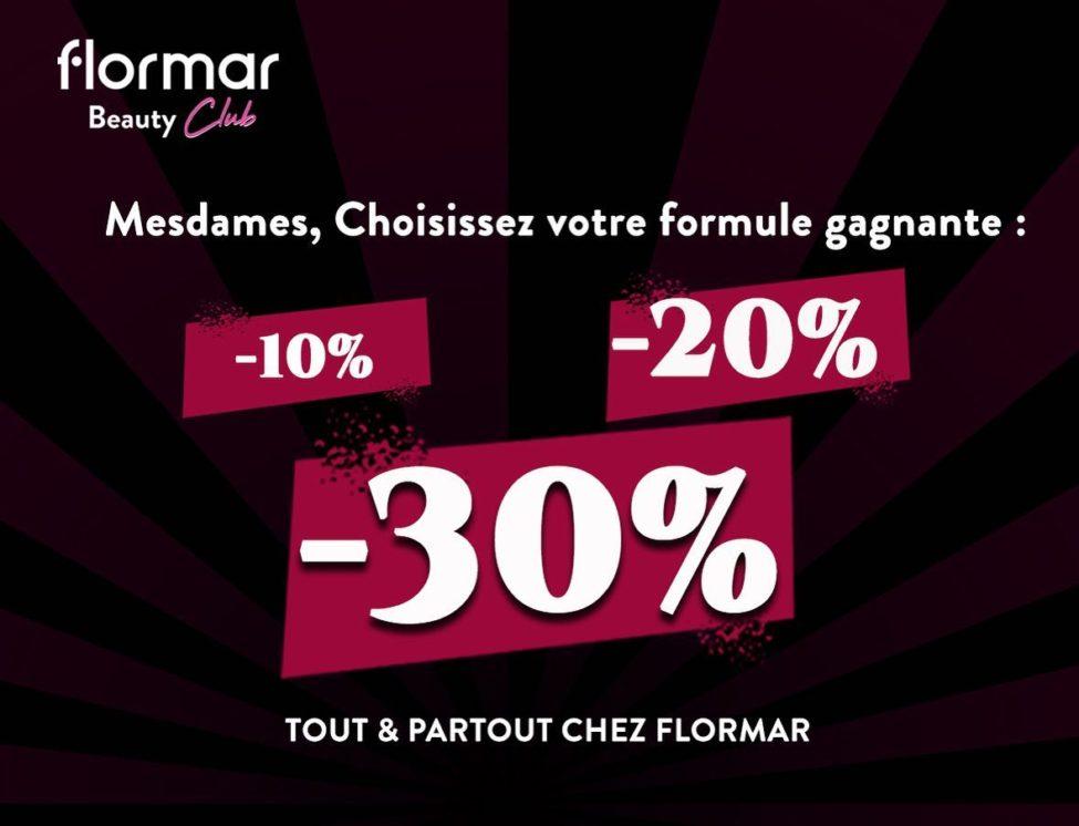 Formule Gagnante chez Flormar Maroc Jusqu'à -30%