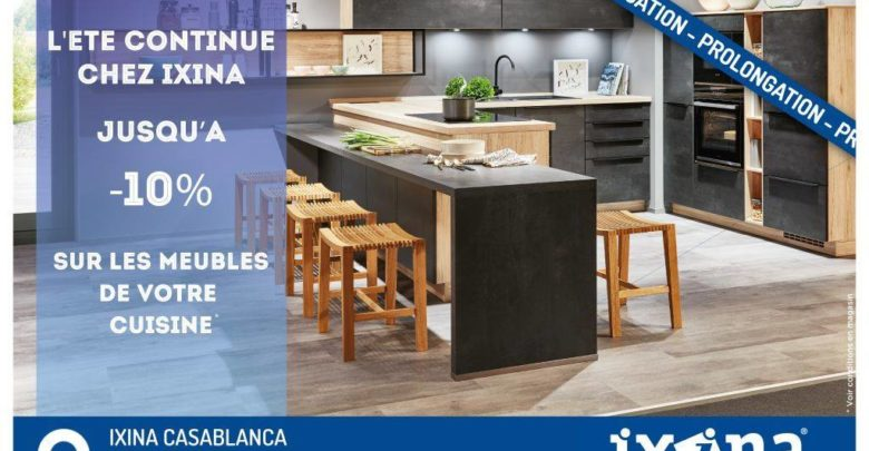 Photo of Offre Spéciale Ixina German Kitchens -10% Jusqu'au 30 Septembre 2019