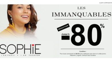 Promo Sophie Paris Maroc Réduction Jusqu'à 80%