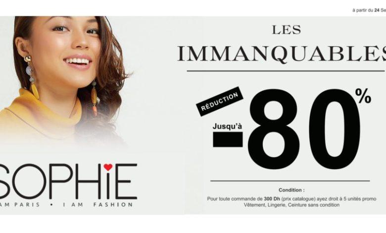 Photo of Promo Sophie Paris Maroc Réduction Jusqu'à 80%