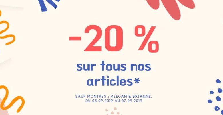 Photo of Soldes Sophie Paris Maroc -20% de réduction du 3 au 7 Septembre 2019
