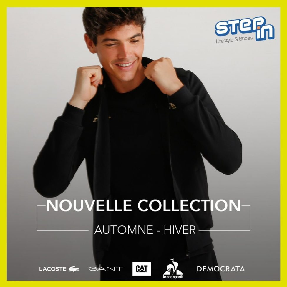 Nouvelle Collection STEP iN Maroc Automne Hiver 2019