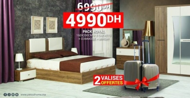 Photo of Promo Yatout Home Pack ROYAL + Cadeau 4990Dhs au lieu de 6990Dhs