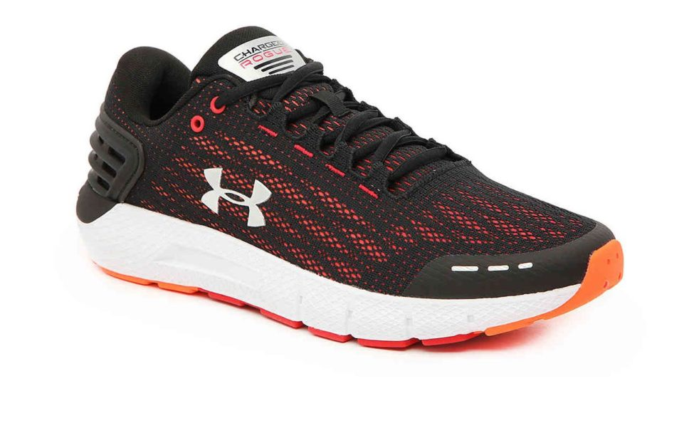 Promo Olympe Store Chaussures Sport Homme Under Armour Charged Rogue 528Dhs au lieu de 880Dhs