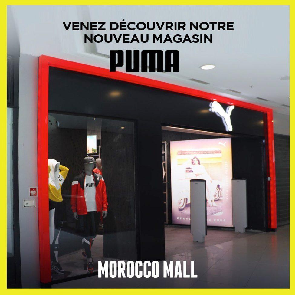 Nouveau Store Puma Maroc est désormais ouvert au MoroccoMall