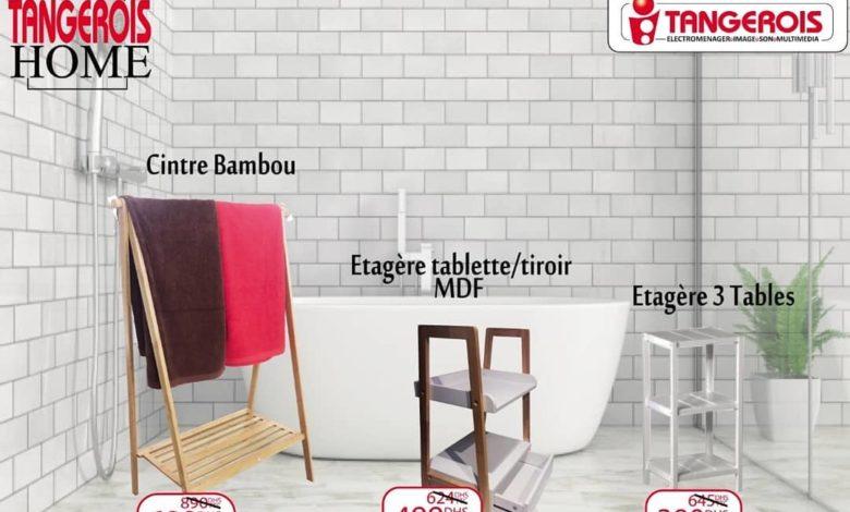 Promo Tangerois HOME Spéciale Accessoires salle de bain