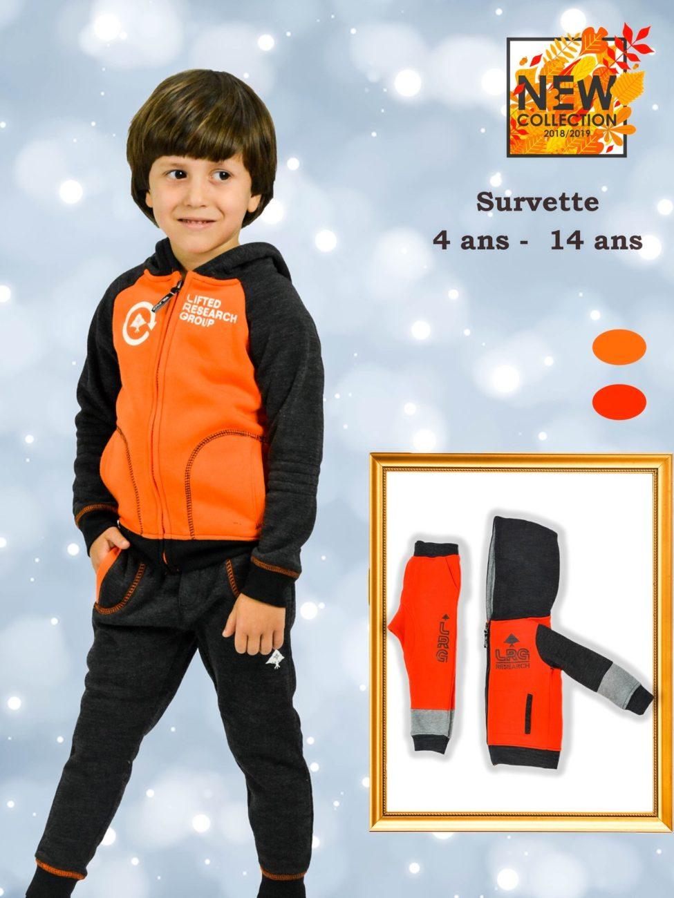 Nouvelle Saison Gorena Maroc Sport Kids Collection