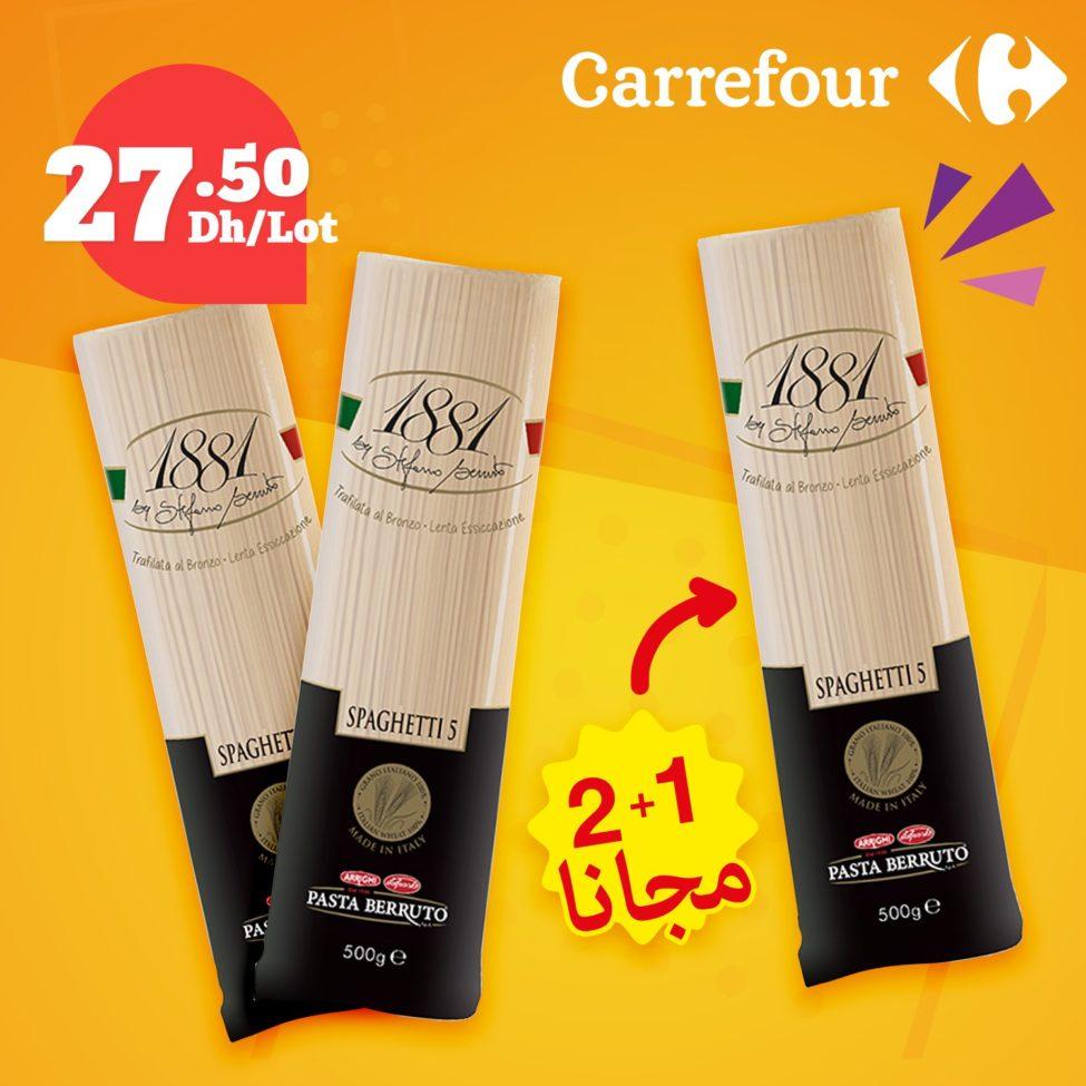 Promo Gratuité chez Carrefour Maroc jusqu'au 06 Novembre 2019