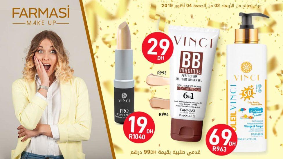 Super Offre Farmasi Maroc Jusqu'au 2 Octobre 2019