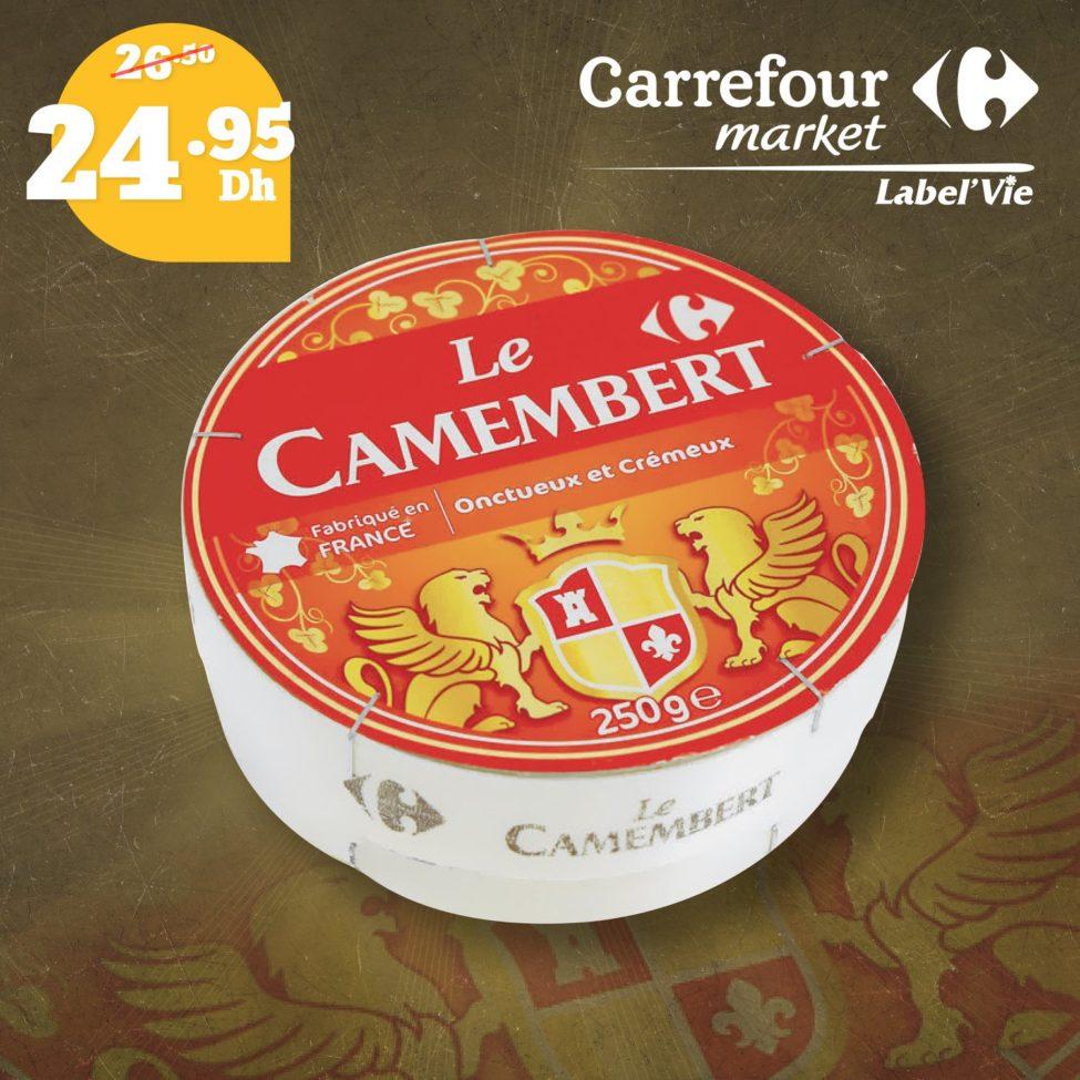 Promo Carrefour Market Spéciale Amoureux du fromage