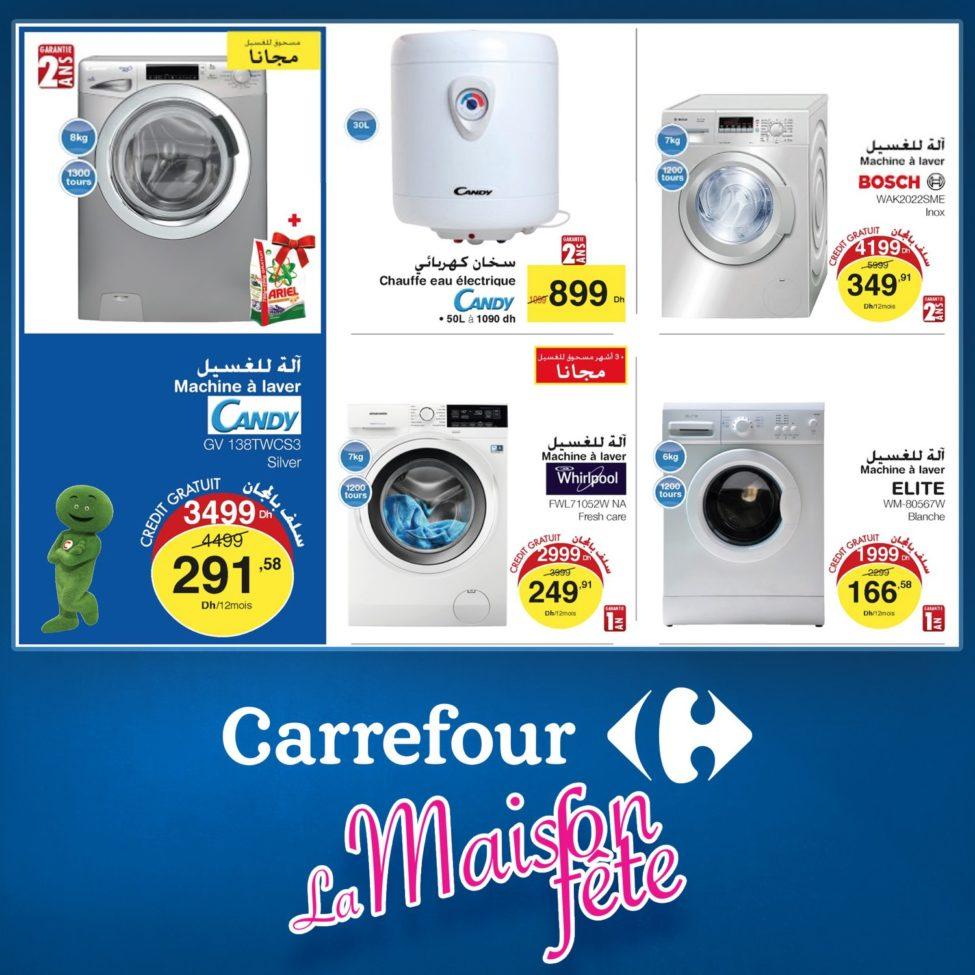 Flyer Carrefour Market Maroc La Maison fête jusqu'au 25 Octobre 2019