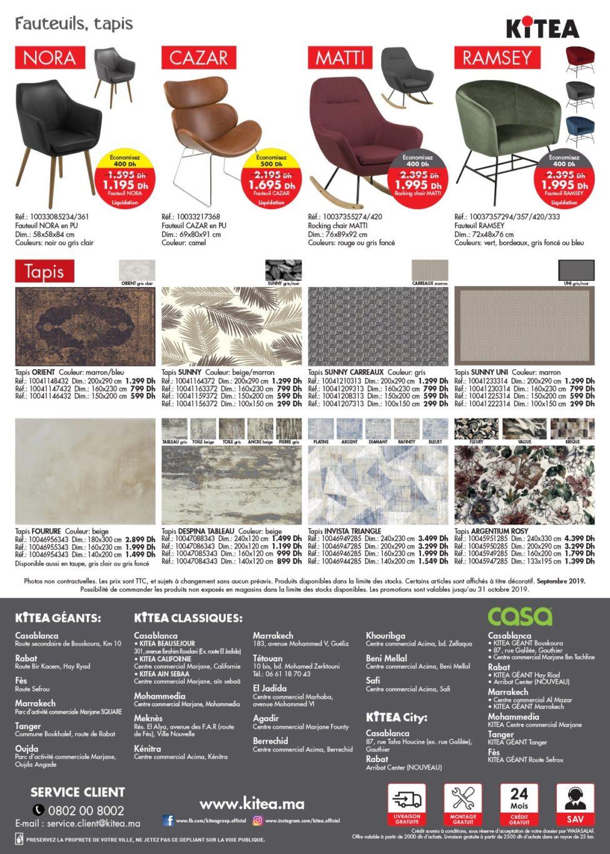 Catalogue Kitea Spéciale Canapé/SOFA 2019