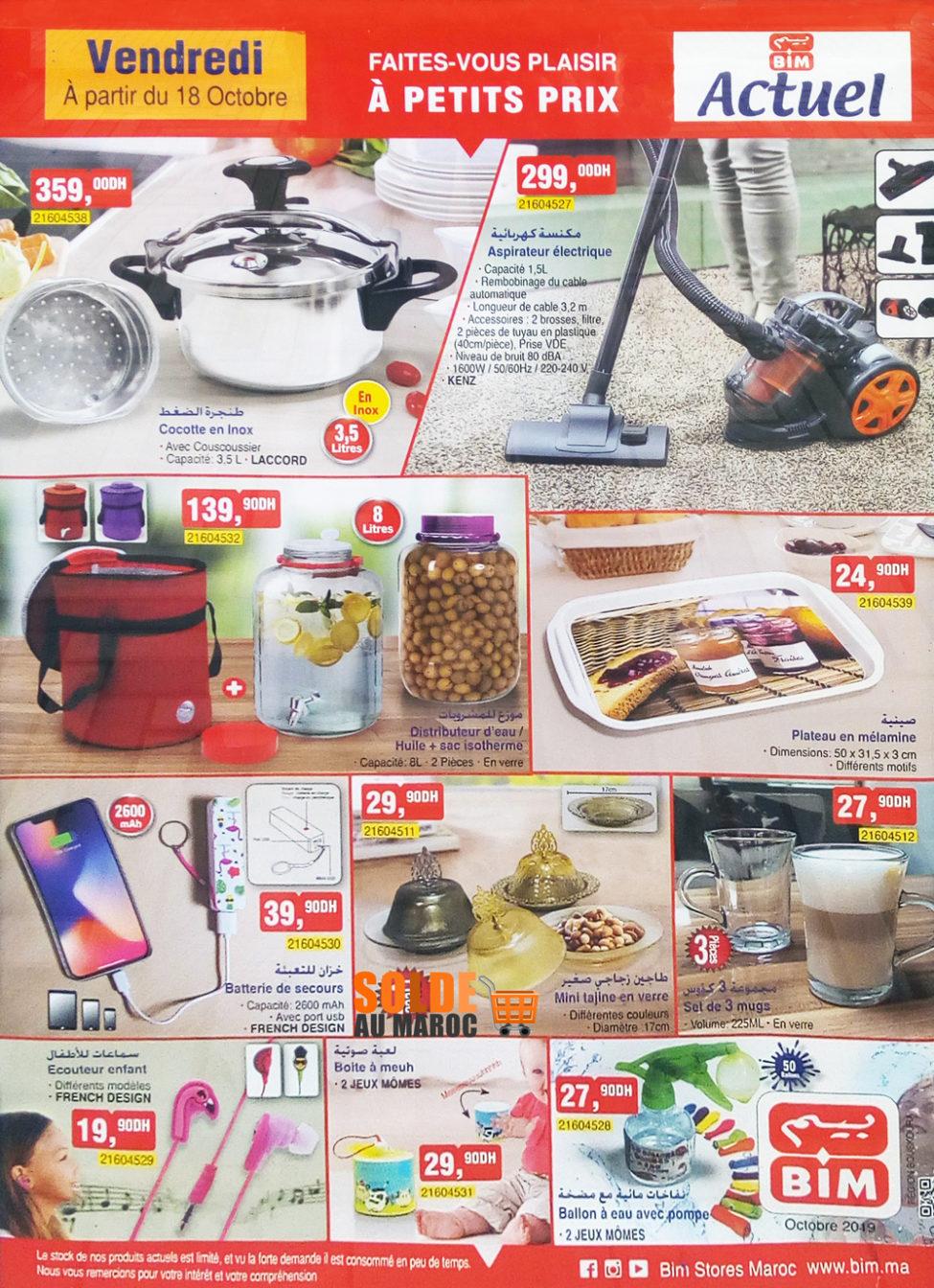 Catalogue Bim Région Bouskoura du Vendredi 18 Octobre 2019