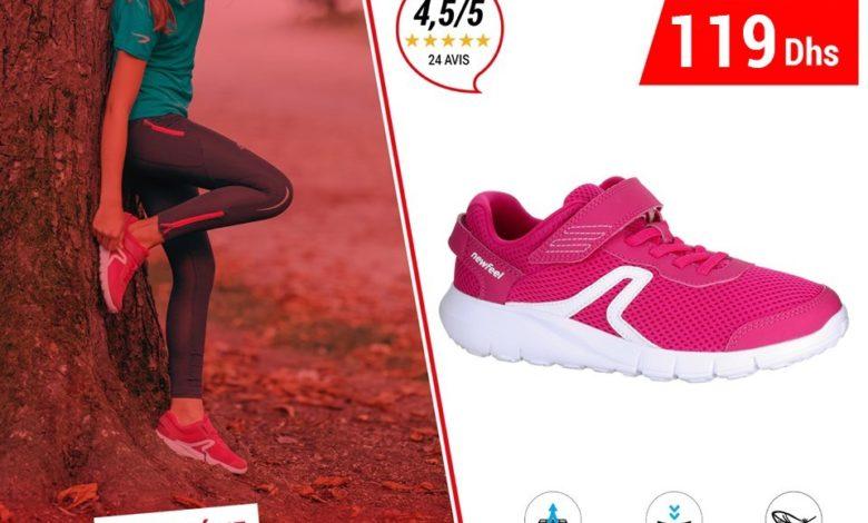Photo of Soldes Decathlon Chaussures Marche Enfant NEWFEEL 119Dhs au lieu de 149Dhs