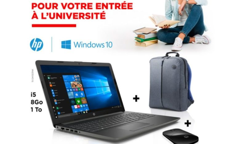Photo of Promo Electroplanet Laptop HP i5 + Sacà dos + Souris 6999Dhs au lieu de 8499Dhs