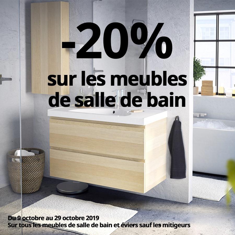 Soldes Ikea Maroc -20% sur les meubles de salle de bain et ...