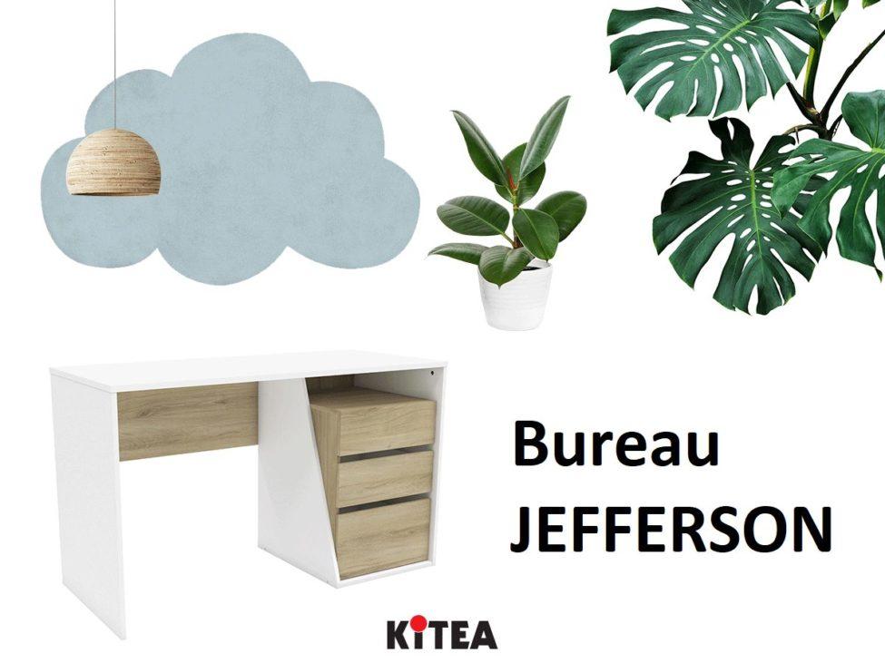Soldes Kitea Bureau JEFFERSON 1490Dhs au lieu de 1790Dhs