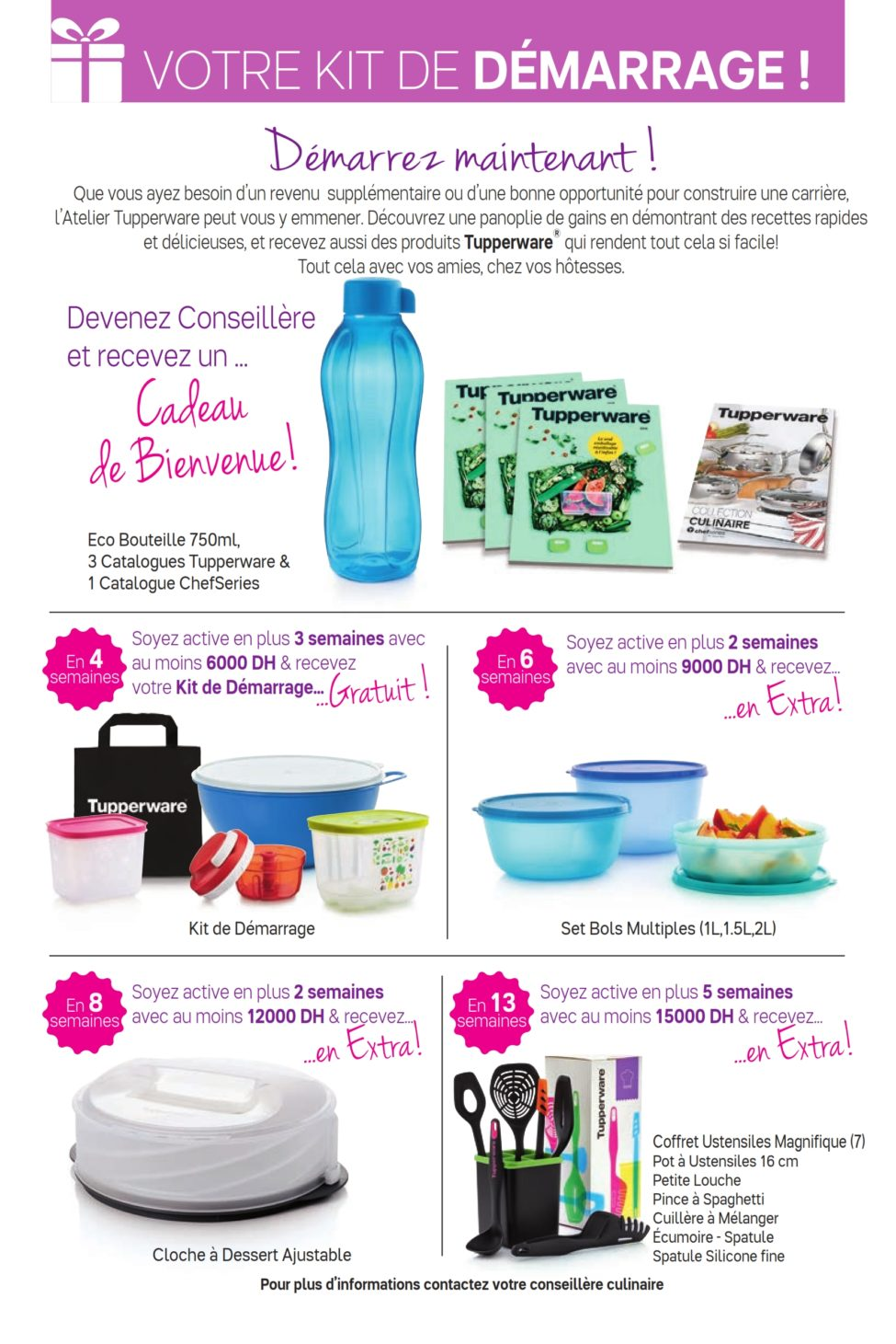 Catalogue Tupperware Maroc du 30 Septembre au 3 Novembre 2019