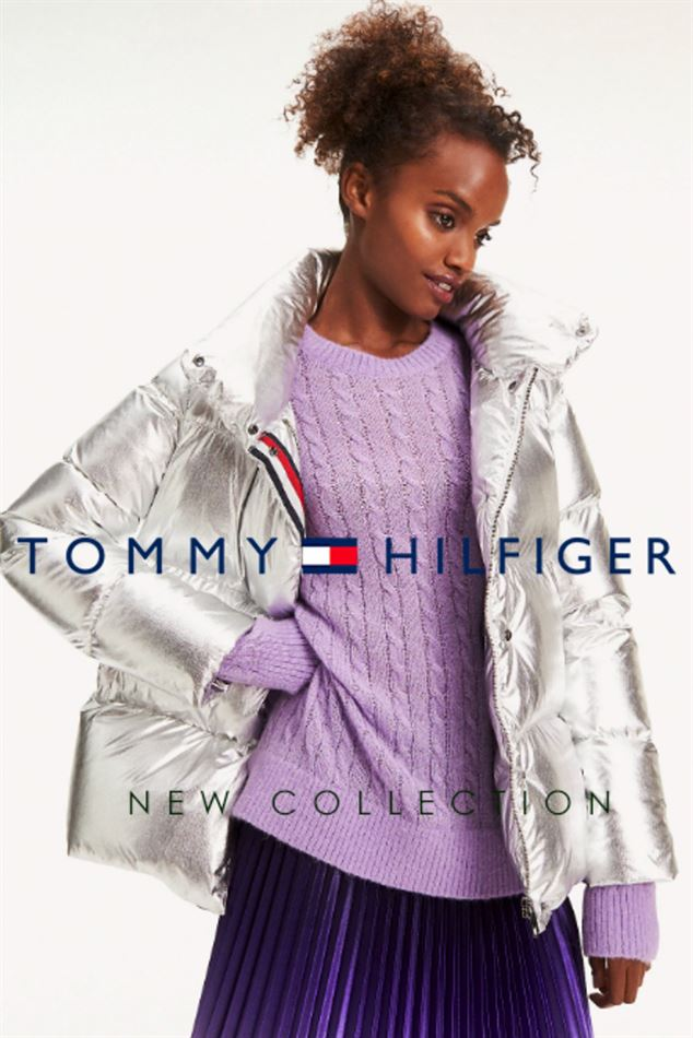 Lookbook Tommy Hilfiger New Collection Jackets Woman du 5 Novembre 2019 au 5 Janvier 2020