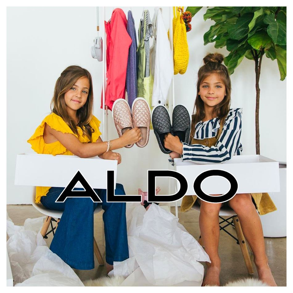 Lookbook Aldo Kid's Collection Valable du 19 Novembre au 7 Décembre 2019