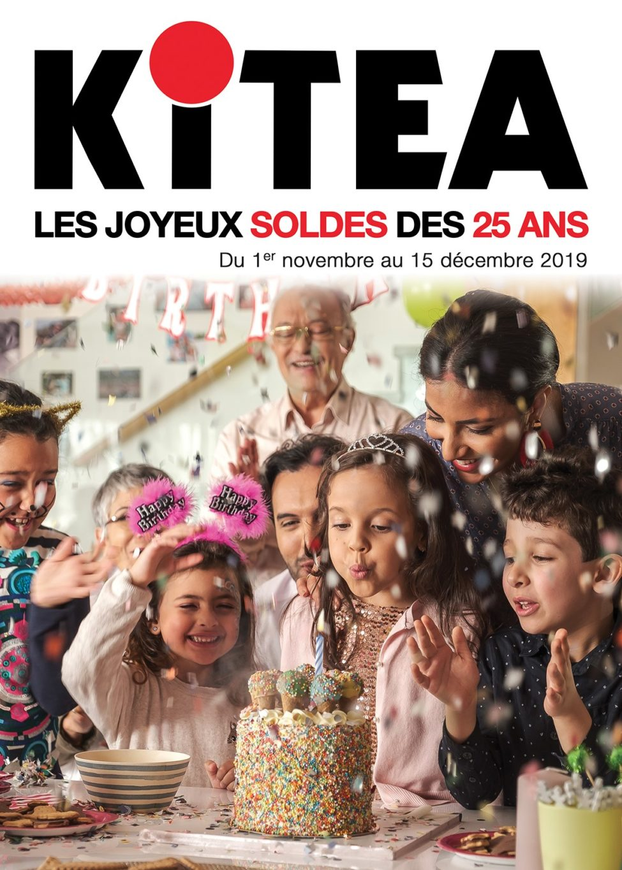 Catalogue Kitea SOLDES DES 25 ANS du 1 Novembre au 15 Décembre 2019