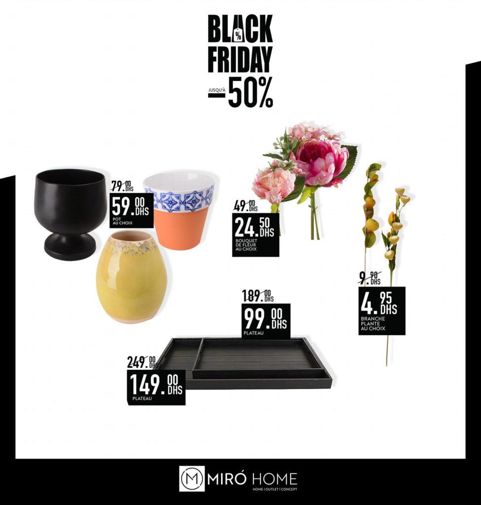 BLACK FRIDAY Wek-end Miro Home Votre vaisselle à des prix exceptionnels